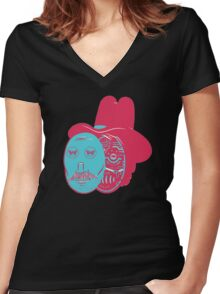 westworld Women's Fitted V-Neck T-Shirt