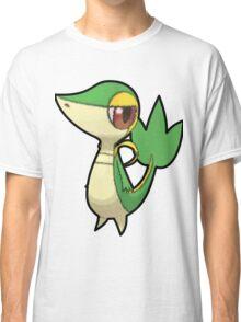 Snivy - Pokemon Thick Border Classic T-Shirt