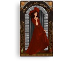 We wants the red head Canvas Print