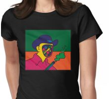 westworld Womens Fitted T-Shirt