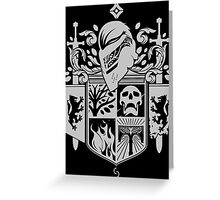 Iron Coat of Arms - DO Edition Greeting Card