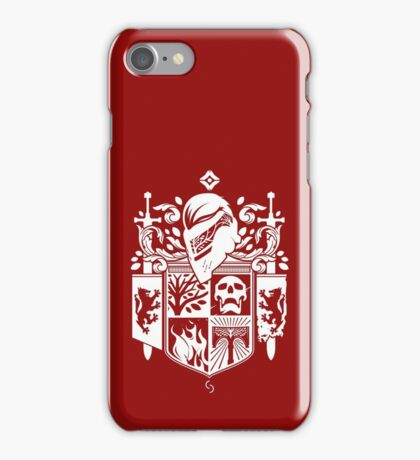Iron Coat of Arms - NM Edition iPhone Case/Skin
