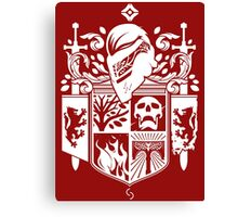 Iron Coat of Arms - NM Edition Canvas Print