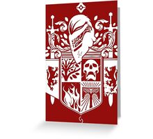 Iron Coat of Arms - NM Edition Greeting Card