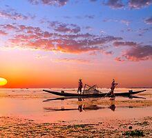 Inle Sunset. by bulljup