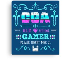 CGA Gamer Canvas Print