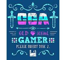 CGA Gamer Photographic Print