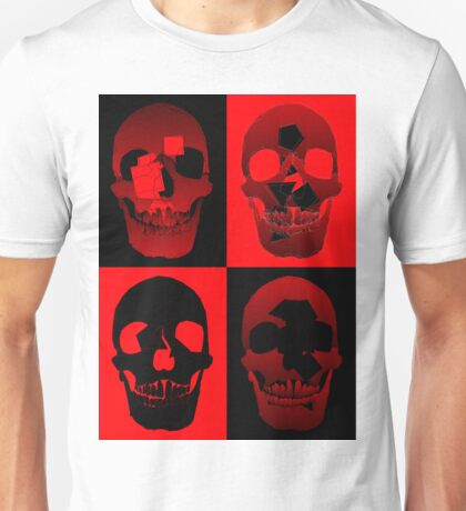 Four Skulls Unisex T-Shirt