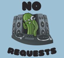 No Requests (DJ Design) Kids Tee