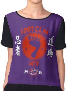Foot Dojo  Chiffon Top