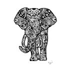 Tribal Elephant by Tiffany Taimoorazy