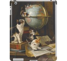 Cats & Kittens Traveling Around the Globe iPad Case/Skin