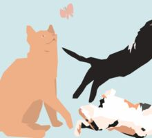 Playing cats Sticker