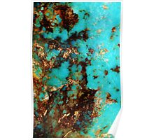 Turquoise I Poster