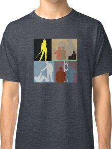 Quentin Tarantino Movie Collage Classic T-Shirt