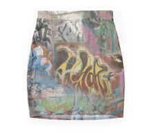 Graffiti mix Mini Skirt