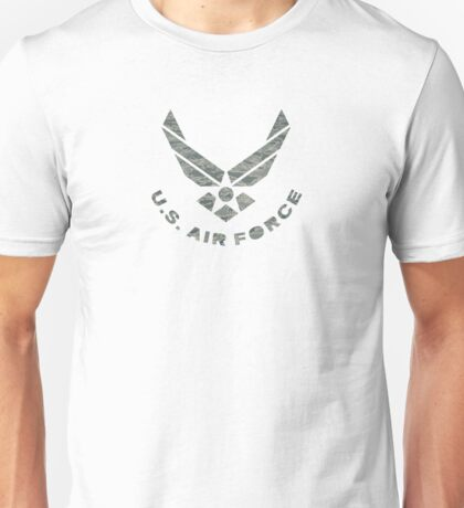 Air Force Camo Logo Unisex T-Shirt