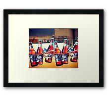 Hite Max Beer, South Korea Framed Print