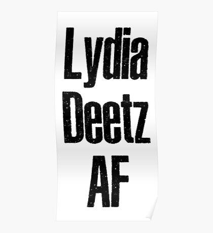 Lydia Deetz Af Poster