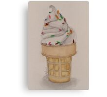We all scream for...-scroll down to view more of my work Canvas Print
