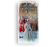 GRACE 1740 FRANCE Canvas Print