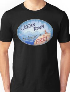 Welcome to Ocean Town! Unisex T-Shirt