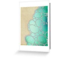 Sea Foam by the Seashore Greeting Card