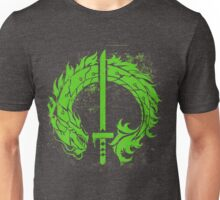 Genji Green Dragon Tag Unisex T-Shirt