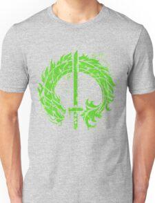 Genji Green Dragon Tag Unisex T-Shirt