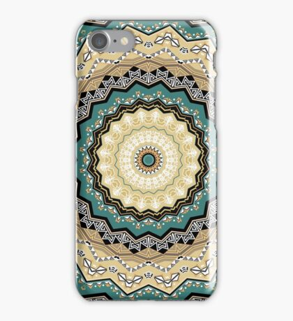 Kaleidoscope. Tribes of Indians.  iPhone Case/Skin
