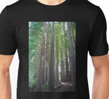 Red Wood Forest Unisex T-Shirt