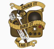 Snag It, Bag It, and Tag It! Kids Tee