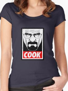 Walter White - Cook Women's Fitted Scoop T-Shirt