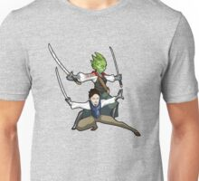 Vastra and Jenny - Demons Run Unisex T-Shirt