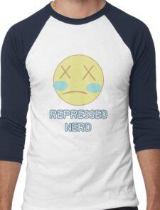 Repressed Nerd Pearl - Steven Universe Inspired  Men's Baseball ¾ T-Shirt