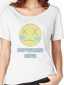 Repressed Nerd Pearl - Steven Universe Inspired  Women's Relaxed Fit T-Shirt