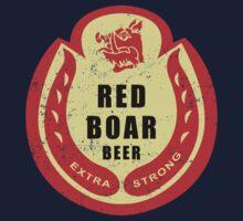 Black Knight's Red Boar Beer Baby Tee