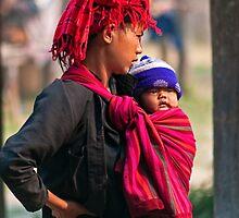 Mum & Baby. by bulljup
