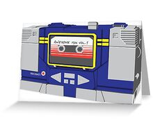 Soundwave's Hooked on a Feeling Greeting Card