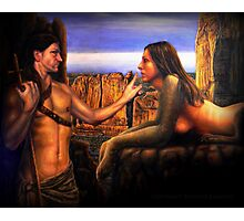 Oedipus and the Sphinx Photographic Print