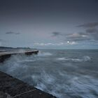 Stormy Seas at the Cobb  by Rob Hawkins