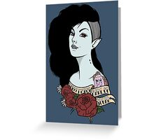 Marceline The Vampire Queen (v.2) Greeting Card