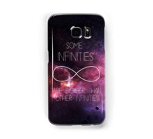 Galaxy-Some Infinities are bigger than other infinities-The fault in our stars Samsung Galaxy Case/Skin