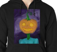 Pumpkin Boy! ( HALLOWEEN 2016) Zipped Hoodie