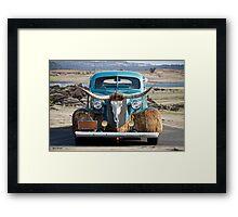 1936 Chevrolet 'Chisholm Trail' Coupe I Framed Print