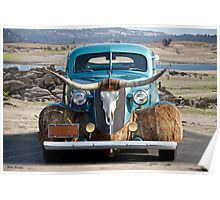 1936 Chevrolet 'Chisholm Trail' Coupe I Poster