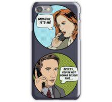 Pop Mulder iPhone Case/Skin