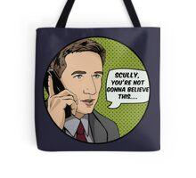 Pop Mulder Tote Bag