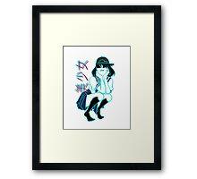 girl+ Framed Print