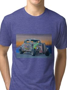 1938 Dodge Coupe 'Just Pass'n Gas' Tri-blend T-Shirt